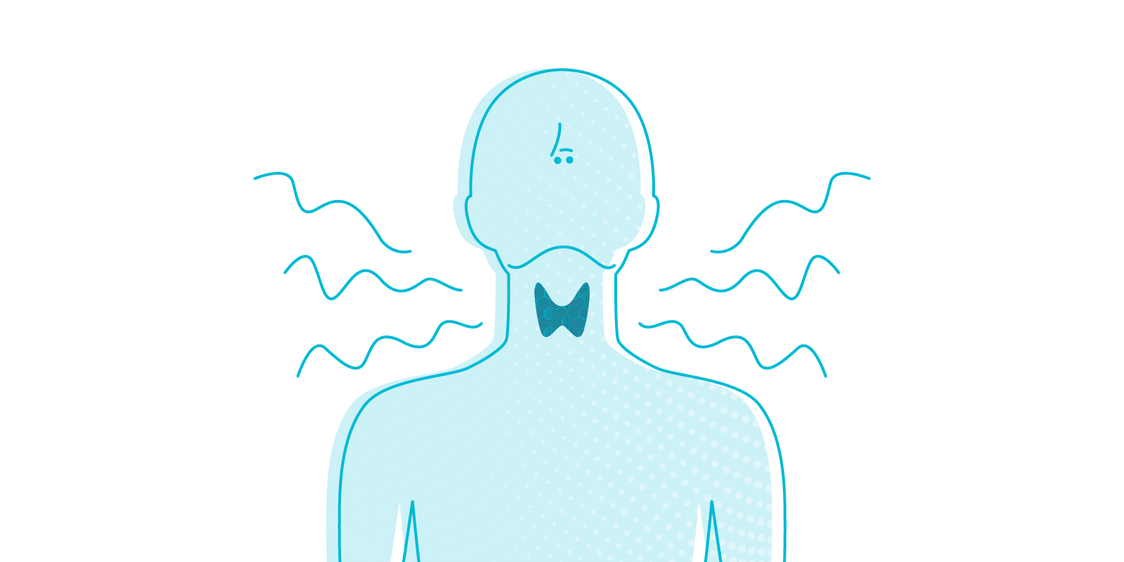 An estimated 200 million people suffer from thyroid problems worldwide. LetsGetChecked talk you through the signs and symptoms of thyroid related issues.  Image