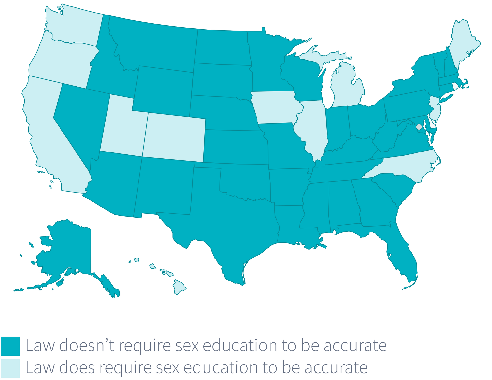 where-are-stds-most-common-by-sex-education-laws-in-the-u.s.
