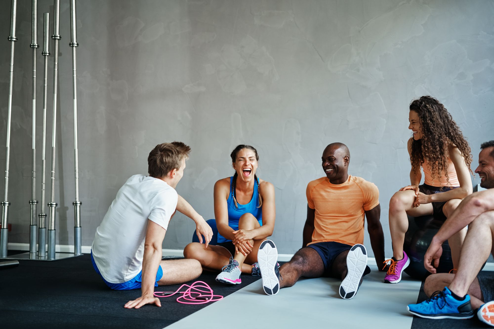 friends-exercising