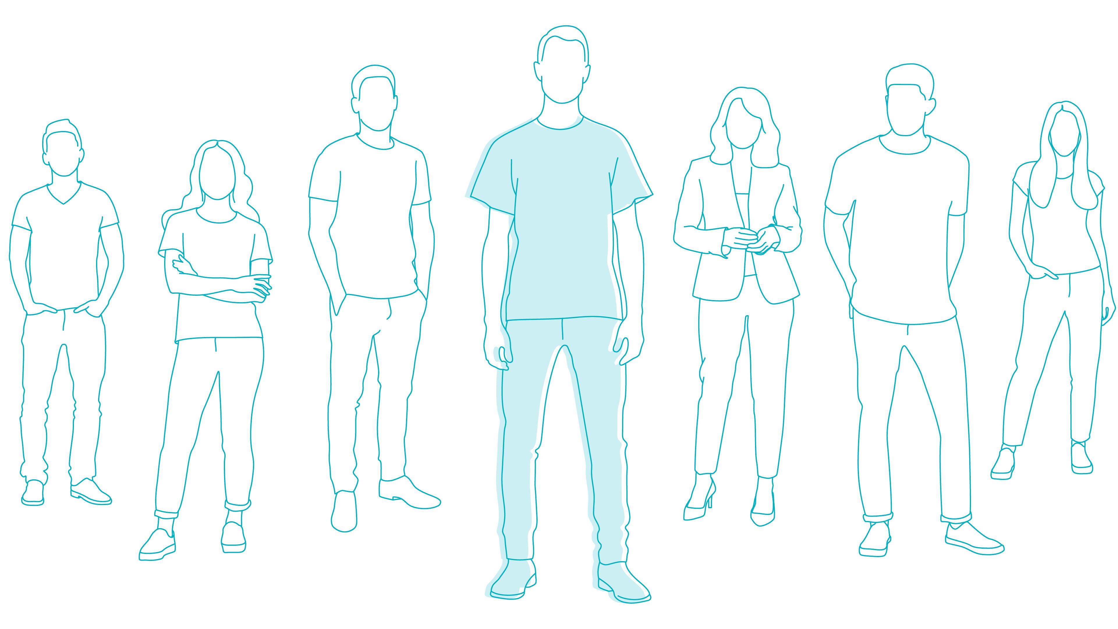 group of people stigma