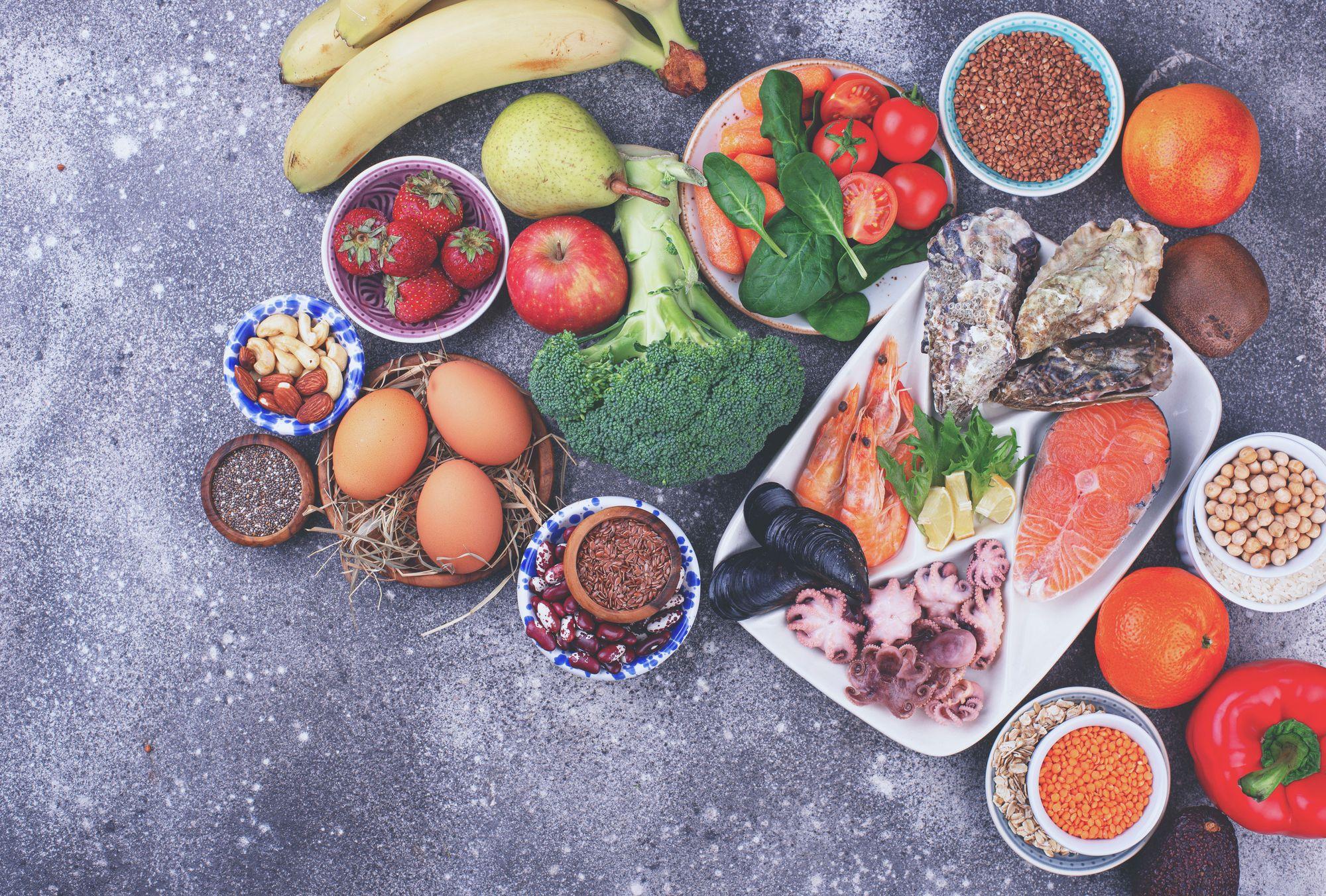 Food of healthy foods