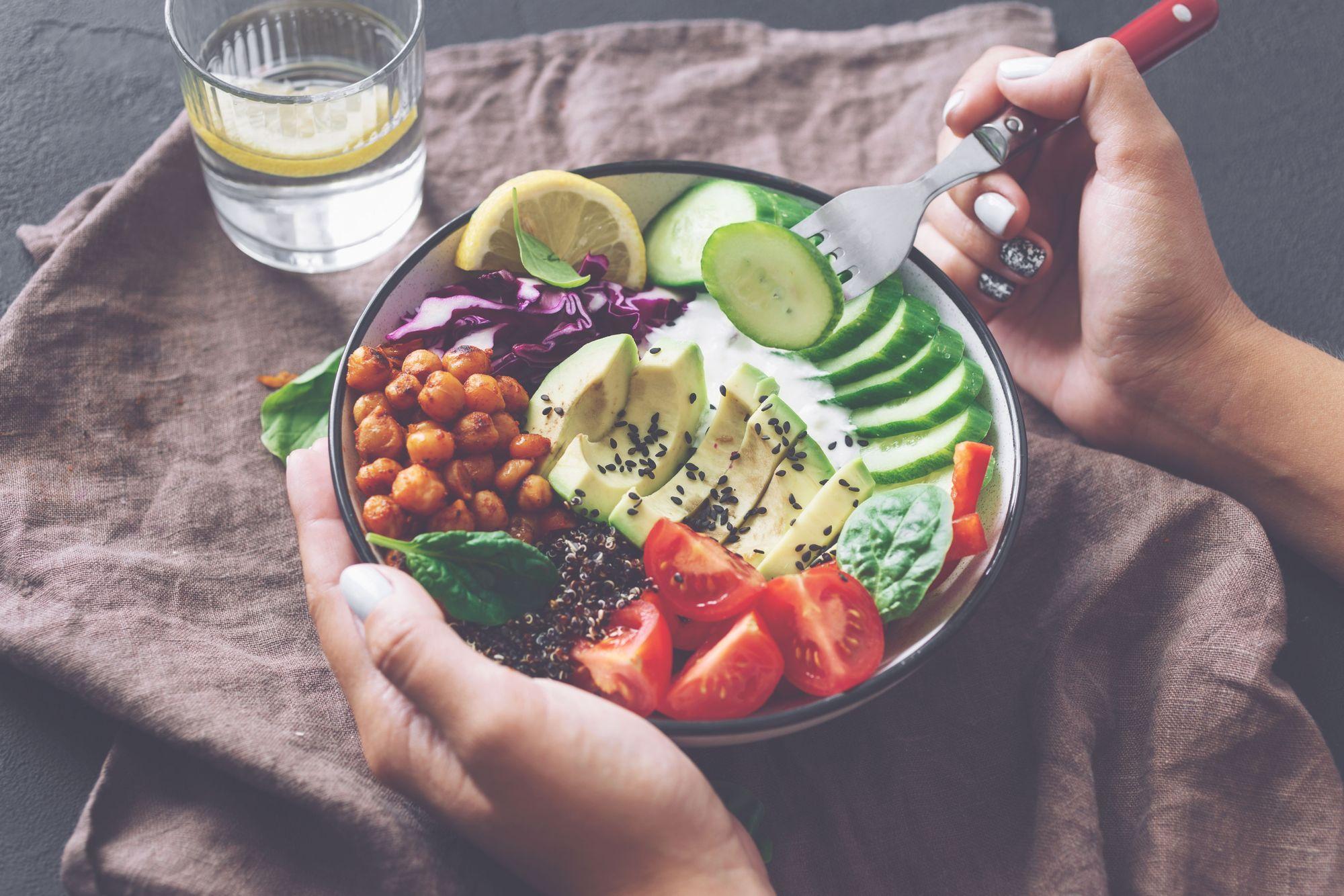 Healthy eating bowl 2